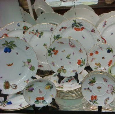 HEREND Market Garden Dinnerware: