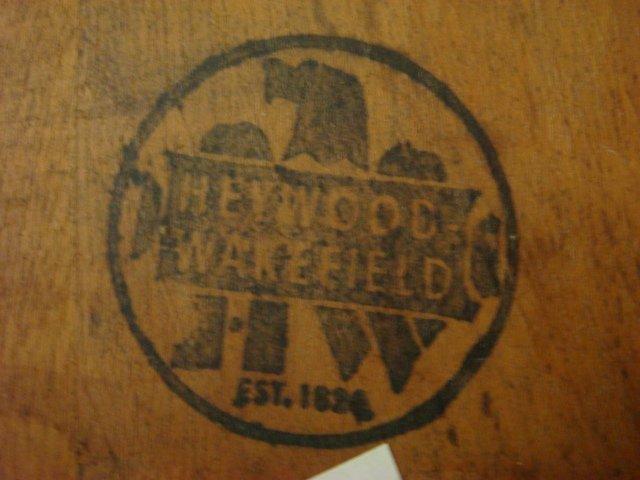 Four HEYWOOD WAKEFIELD Brace Back Windsor Chairs: - 3