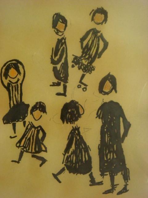 S.ROSENBLUM Artist Proof of Frolicking Children: - 2