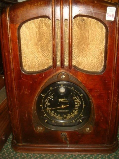 ZENITH Long Distance Radio: