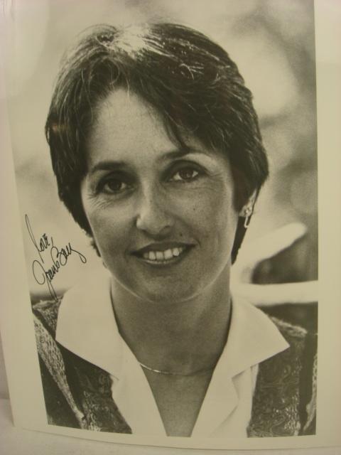 Two Autographed JOAN BAEZ Photographs: