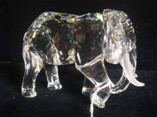 Swarovski Crystal ELEPHANT Figurine: