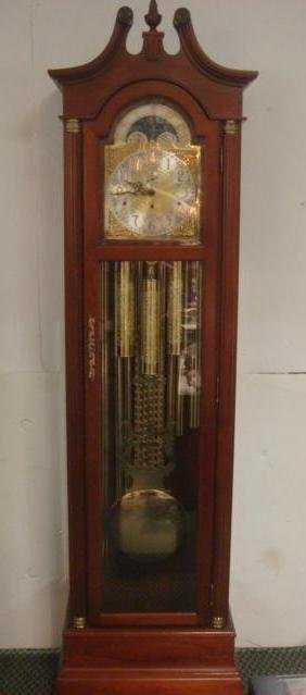 King Arthur Clock Co Grandfather Clock