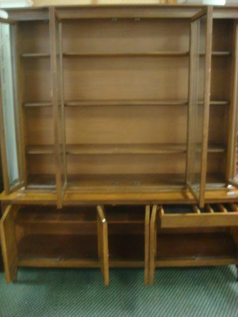 Three Pieces Basic Witz Dining Room Furniture Lot 440