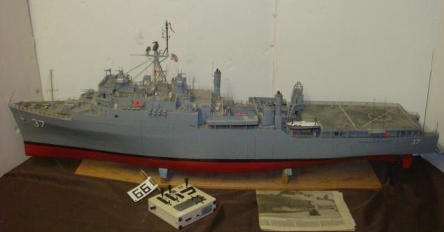Radio Controlled Ship Model USS PORTLAND LSD-37: