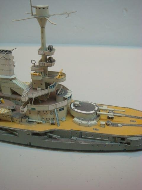 Two Papercraft Models of World War I Warships: - 4