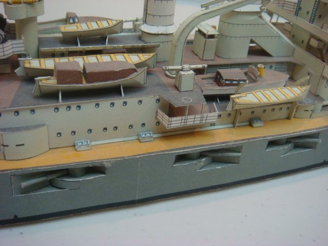 Two Papercraft Models of World War I Warships: - 6