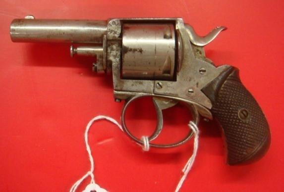 "WEBLEY, ""British Bulldog"" 5 Shot, 32 Cal. Revolver:"