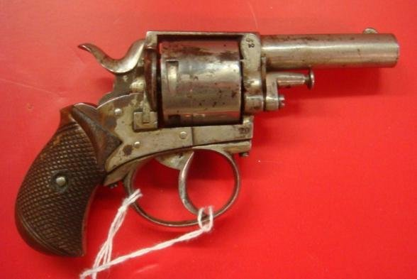"WEBLEY, ""British Bulldog"" 5 Shot, 32 Cal. Revolver: - 2"