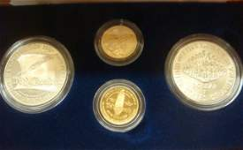1997 US CONSTITUTION 4 COIN COMMERMORATIVE COIN SET: