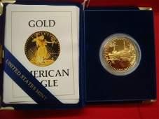 US Proof $50 91.67% Gold Bullion AMERICAN EAGLE Coin:
