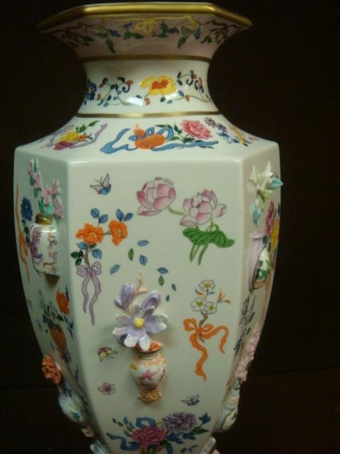 """Franklin Mint Vase of """"One Hand Flowers""""; - 2"""