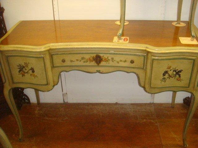 JOHN WIDDICOMB Desk, Chair and Nightstand: French - 2