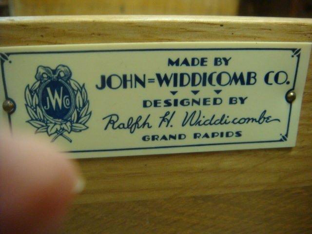 JOHN WIDDICOMB Desk, Chair and Nightstand: French - 3