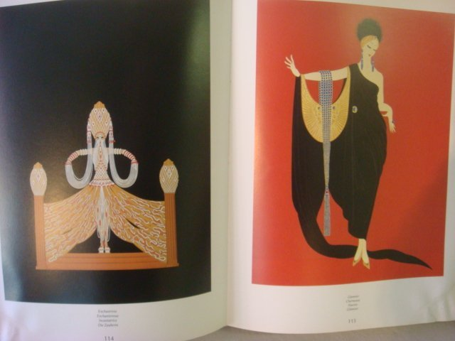 Two Coffee Table Books of Erte Illustrations: ERTE, My - 2