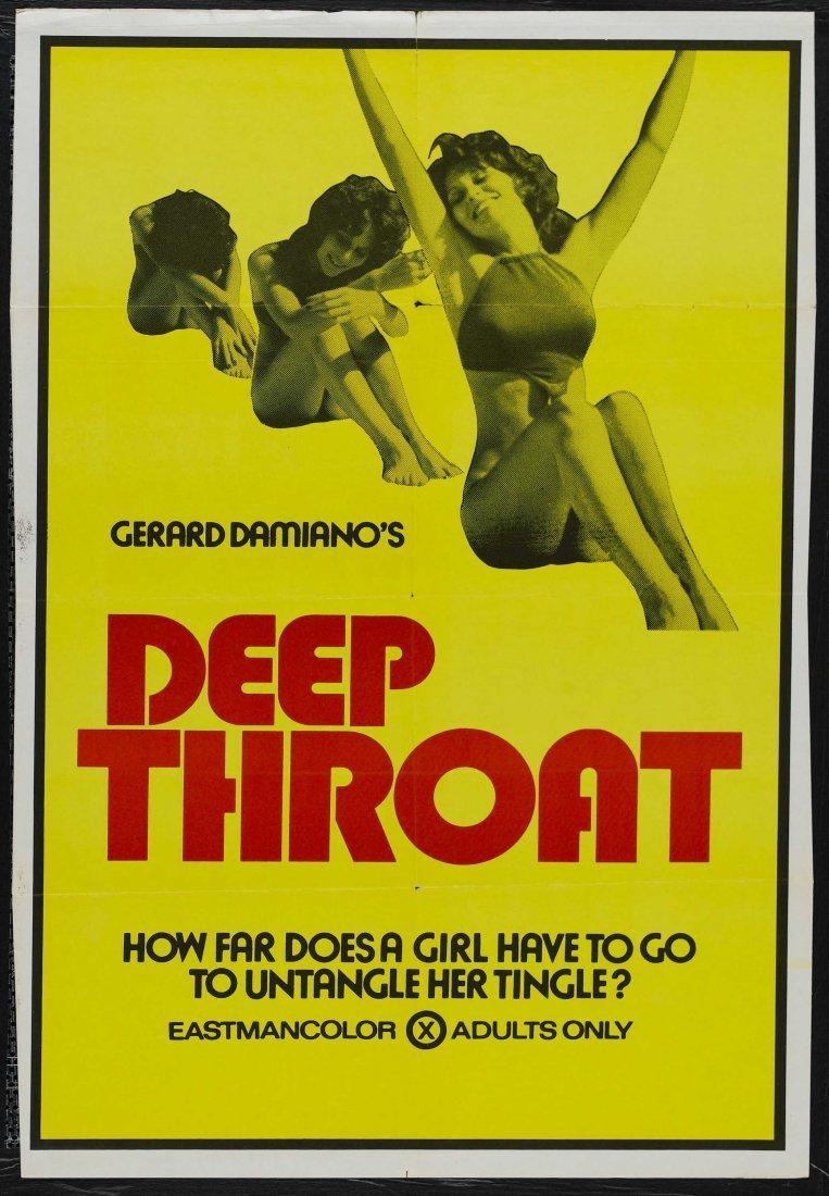 """Vintage 16MM Movie, """"DEEP THROAT"""" 1972, 61 Minutes:"""