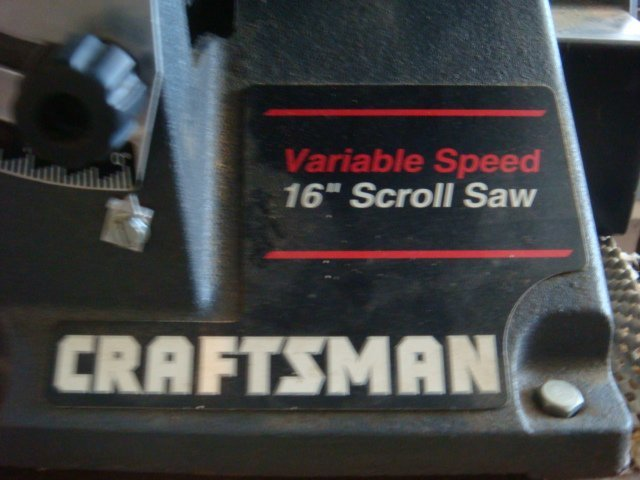 "CRAFTSMAN 16"" Variable Speed Scroll Saw: - 3"