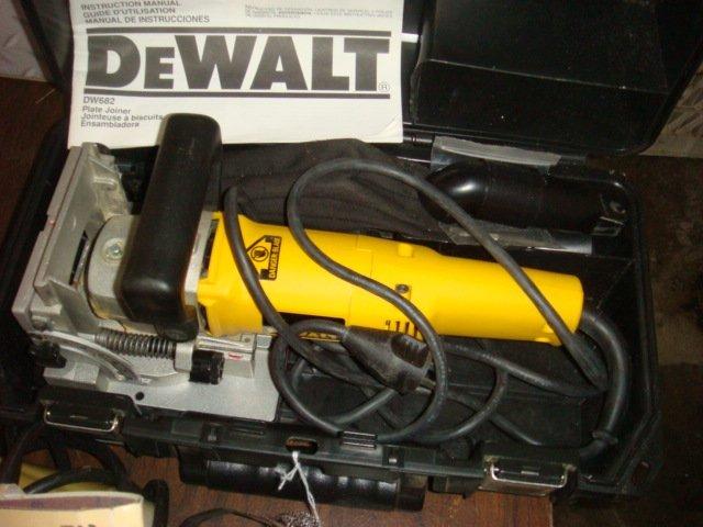DEWALT DW682 Plate Joiner, New in Box: