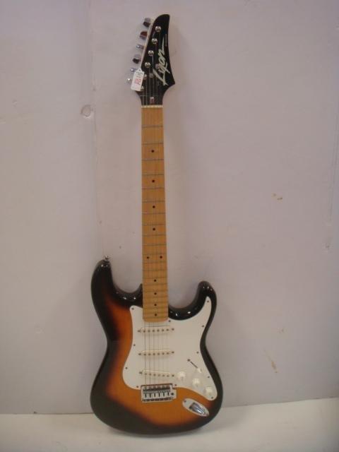 lyon by washburn 6 string electric guitar