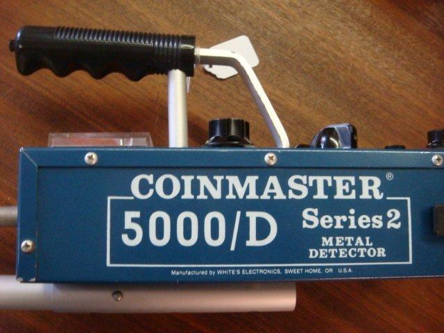 WHITE'S COINMASTER 5000 D Series 2 Metal Detector: - 3