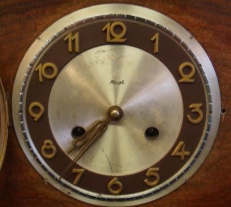 KIENZLE Art Deco Mantle Clock: - 2