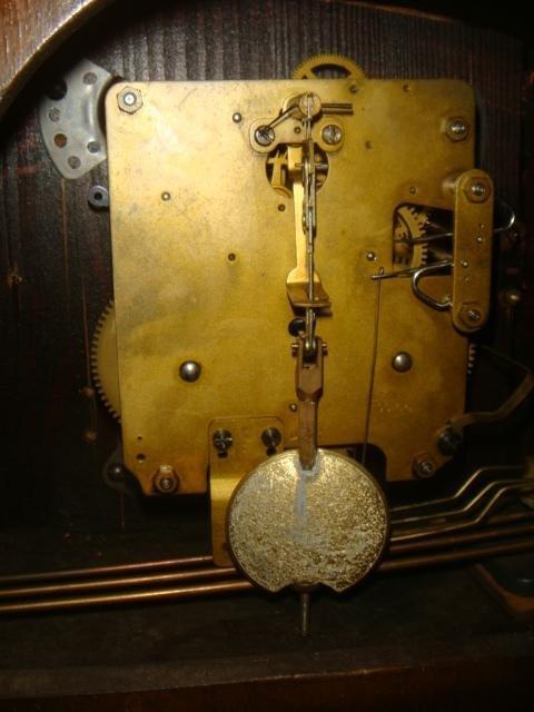 KIENZLE Art Deco Mantle Clock: - 3