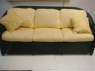 "Quality LLOYD LOOM ""Reflections"" Loom Wicker Couch:"