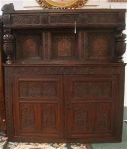 RARE CHARLES II Court Press or Court Cupboard CA 1680: