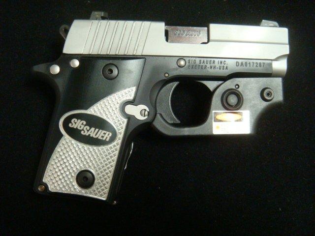SIG SAUER P238 Semi Auto Pistol with Laser Sight