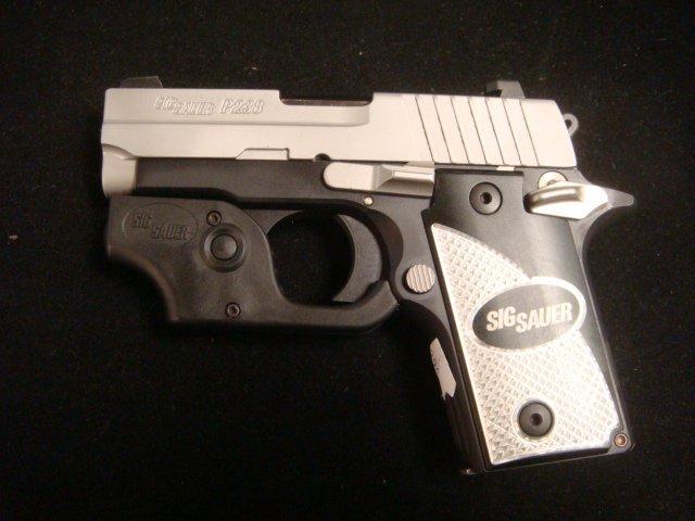 SIG SAUER P238 Semi Auto Pistol with Laser Sight - 3