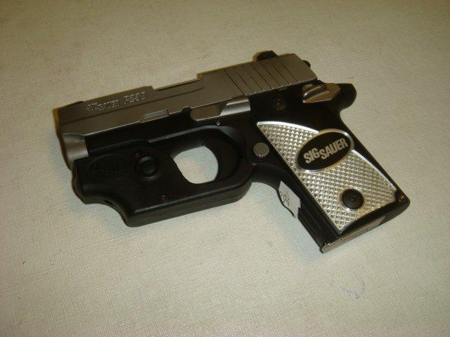 SIG SAUER P238 Semi Auto Pistol with Laser Sight - 4