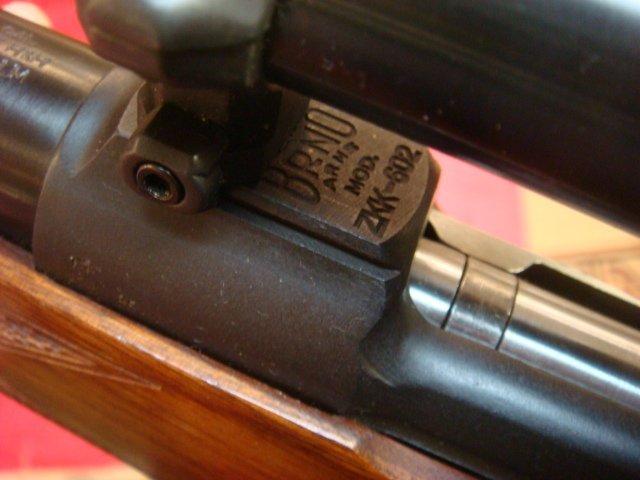 BRNO ARMS, MODEL ZZK-602, 375 H&H MAGUM Rifle: - 3