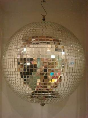 "Reflective 15"" Mirrored Disco Ball:"