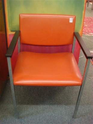 Modern Set of Four STEELCASE INC. Guest Chairs: