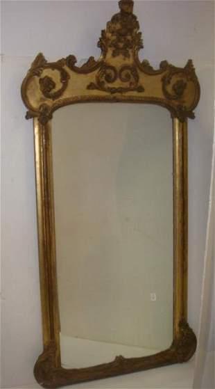 Grand Italian Baroque Pier Mirror: