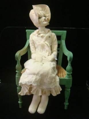 Soft Art Sculpture Doll by DAVID STRAUS: