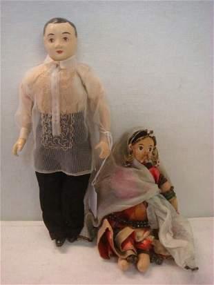 Rajasthani Folk Dancer & Compo Dolls: