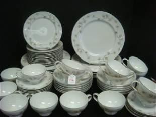 NARUMI Madera Pine Fine China Dinnerware Set: