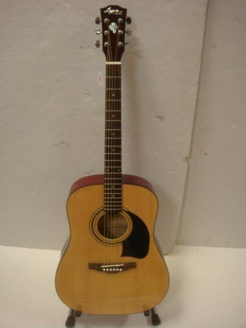 lyon by washburn dreadnought acoustic guitar case. Black Bedroom Furniture Sets. Home Design Ideas