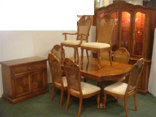 11 Pc THOMASVILLE Dining Room Set