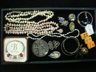 Collection of New and Vintage Costume Jewelry: