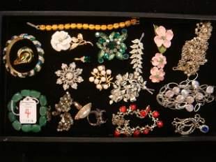 Vintage Costume Jewelry: