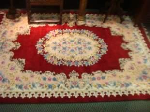 Persian Handwoven Wool Rug: