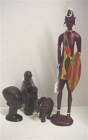 Handcarved African Figures