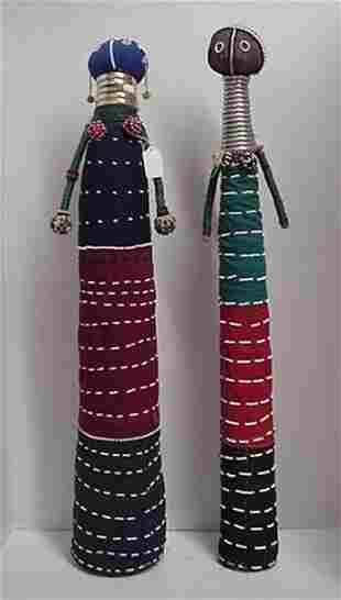 2 Stylized Wahtusi Female Dolls