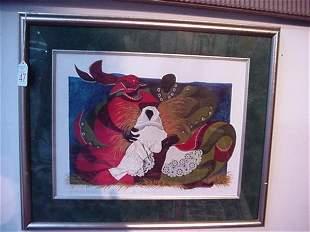 Alice Gatewood Waddell Nativity Print