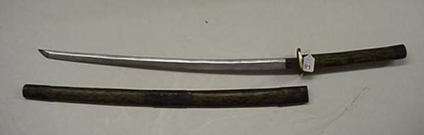 91: Japanese Samurai Sword: