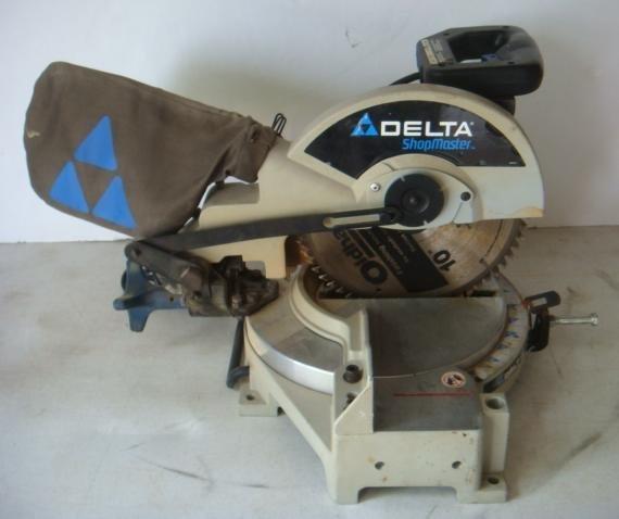 delta ms250 shopmaster 10 inch compound miter saw manual
