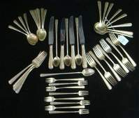 45 Pieces of TOWLE Candlelight Sterling Flatware