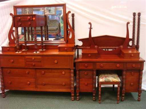 6 Piece Solid Cherry Bedroom Set